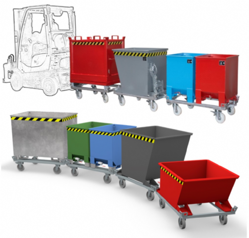 Containers For Tugger Train Systems